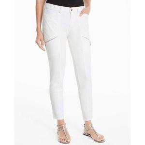 White House Black Market Skinny Crop Jeans